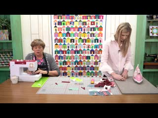 Replay create a tiny house quilt block with jenny and misty from missouri star (how-to video)