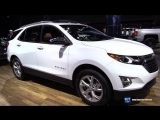 2018 Chevrolet Equinox Premier - Exterior and Interior Walkaround - 2018 New York Auto Show
