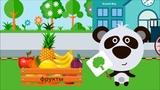 Развивающий мультик для детей - учим ягоды, фрукты и овощи