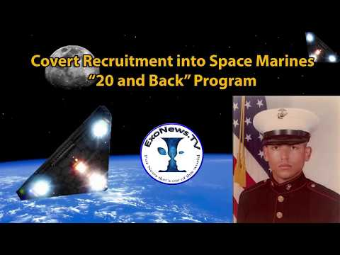 Covert Recruitment into Space Marines 20 and Back Program