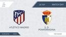 AFL18. Spain. Primera. Day 20. Atlético Madrid - S.D. Ponferradina.