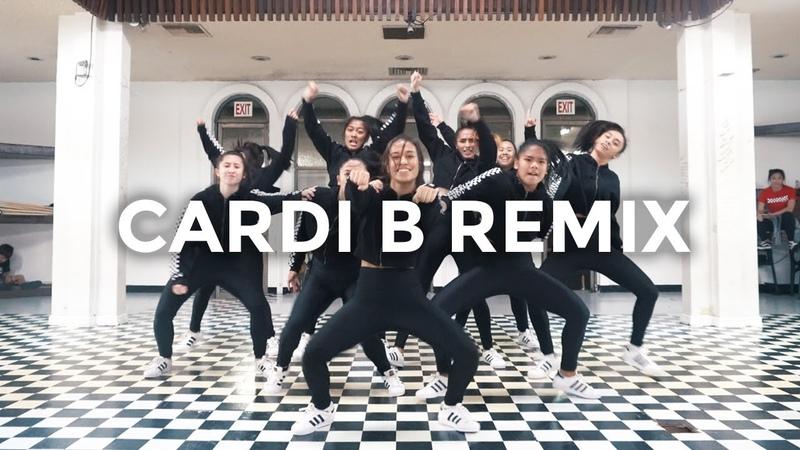 Cardi B Remix Bartier Cardi Bodak Yellow MotorSport No Limit Plain Jane Dance Video