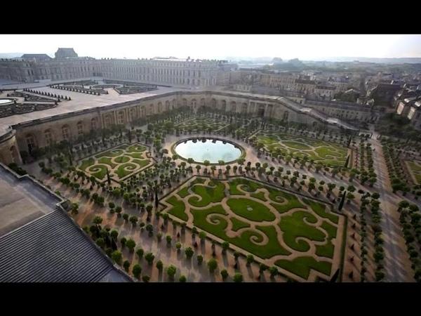 Prise de vue aérienne - Château de Versailles