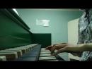 На клавесине!