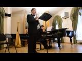 Песня Под лесом-то лесом, обработка русской народной песни для гобоя и фортепиано
