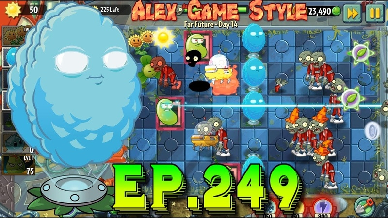 Plants vs. Zombies 2 || Buying a new Plant Squash - Far Future Day 14 (Ep.249)