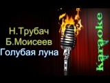 Николай Трубач и Борис Моисеев - Голубая луна ( караоке )