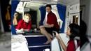 Стюардессы спят в секретных комнатах самолета, о которых не знают пассажиры