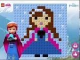 Мультик игра Лего принцессы Диснея: Мозаика (Lego Disney Princess)