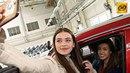 Красивые девушки, автомобили: финалистки «Мисс Беларусь» на заводе «БелДжи»