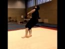 Попытки на даблкорк после 5 лет страдания фигней и пару трюков из тренировки ..,.