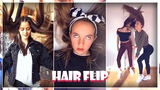 The Best Hair Flips &amp Whips Musical.ly Compilation 2018