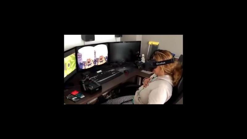Что такое виртуальная реальность, можно понять, только надев 3D-очки, но можно хотя бы представить, посмотрев со стороны.