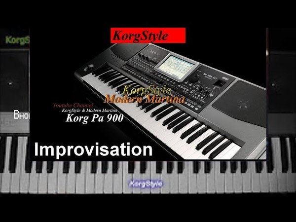 KorgStyle MM - Improvisation (Korg Pa 900) DemoVersion