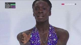 Mae Berenice Meite Trophée de France 2018 SP