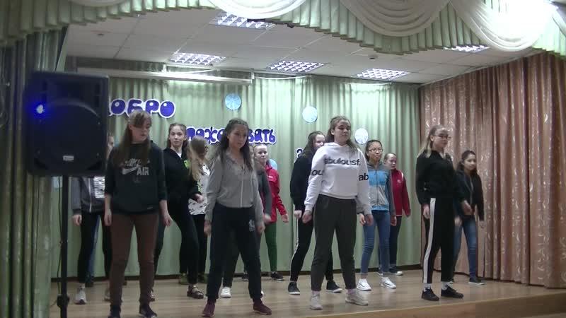 Танец Зимнее настроение_5 отряд