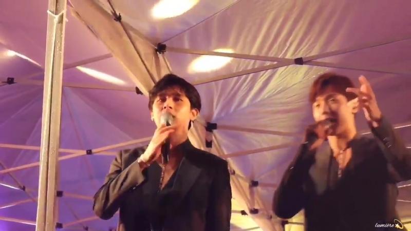 [VK][180502] MONSTA X fancam - Need U (I.M focus) @ Showcase C-Festival 2018