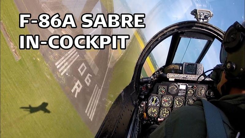 F-86A Sabre In-cockpit