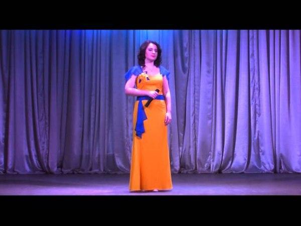 Ювілейний концерт Дарую вам пісню Світлани Данчук (1-частина)