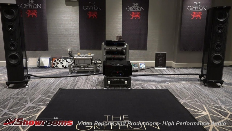 Gryphon Audio, Tweak Studio, Gryphon Pantheon speakers, Zena Preamp, Antileon EVO amp, MIT Cables, R