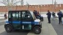 В Туле полиция патрулирует центр на электрокарах