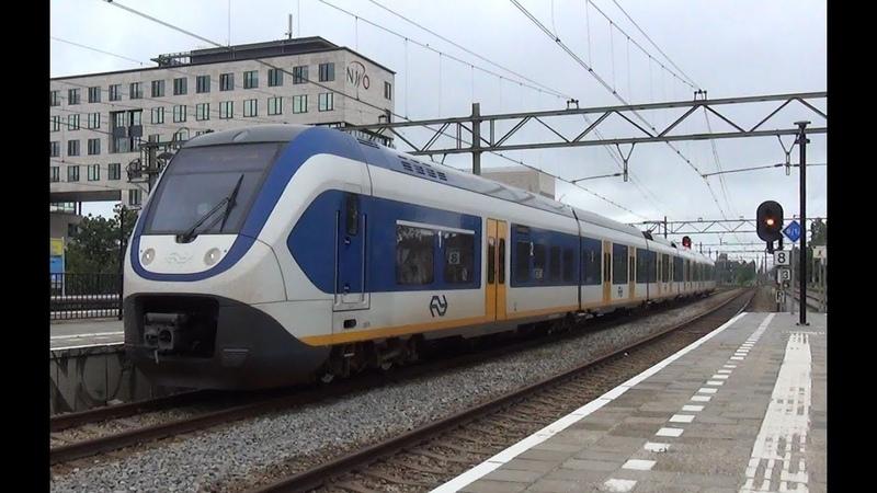 SLT 2611 komt aan op station Den Haag Laan van NOI