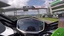 Max Biaggi Tests The Top Speed of MotoE Bike at Mugello Circuit