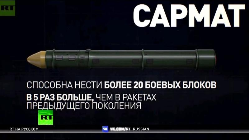 Возвращение к паритету для чего Россия готовит новейшее стратегическое вооружение
