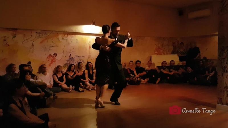 Diego Riemer y Maria Filali ❤ @ Milonga La Nocturna - La Tanguedia de Paris - DJ Paskal