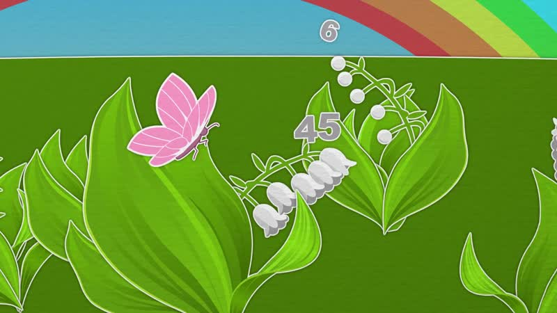 29 серия Уроки от Пинги и Кроки Полет бабочки