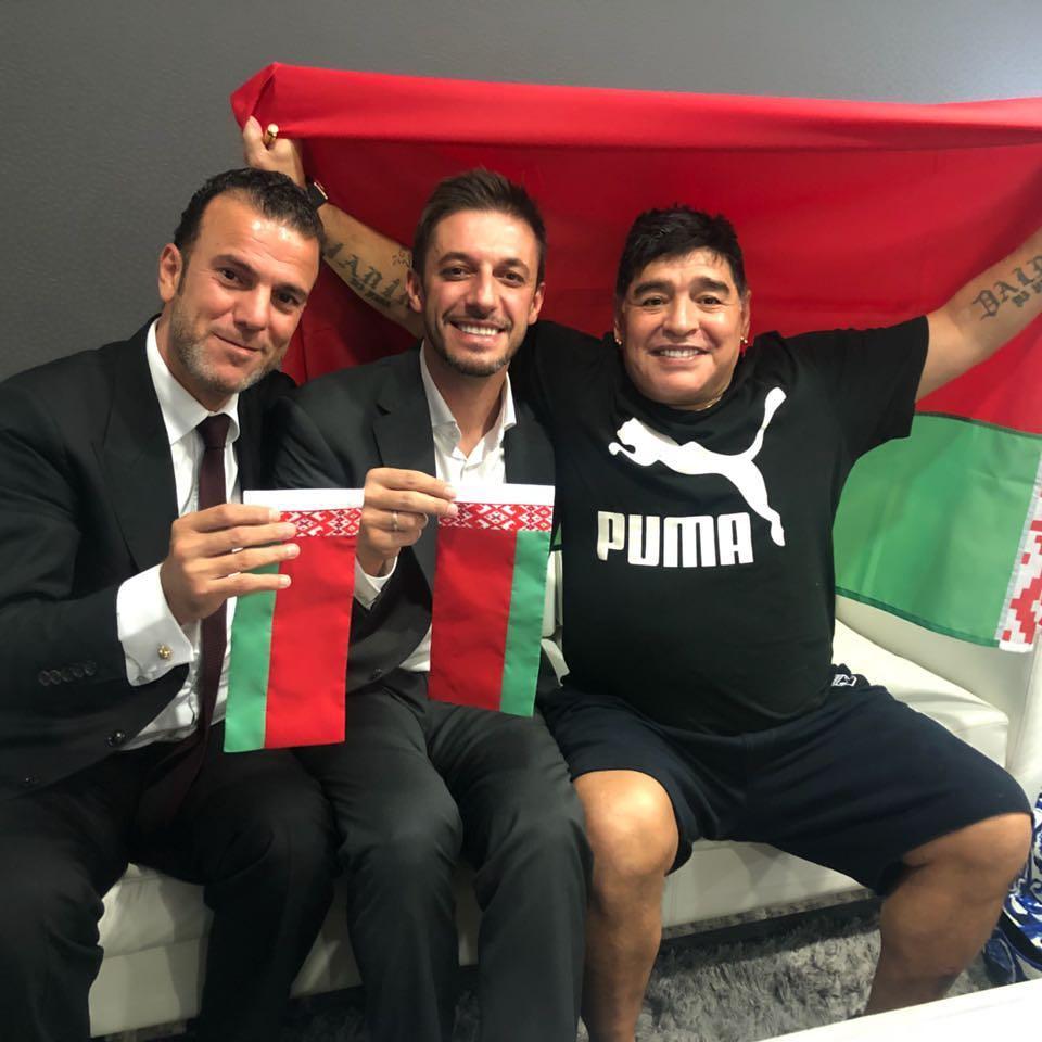"""Диего Марадона: Я буду президентом брестского """"Динамо"""""""