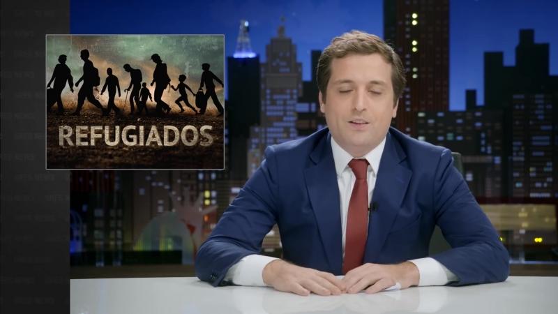 GREG NEWS com Gregório Duvivier REFUGIADOS