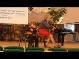 1-е место на VIII республиканском открытом конкурсе исполнителей на народных инструментах имени И.И. Жиновича 23-28 апреля 2018