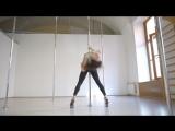 Юлия Челакова. Exotic pole choreo   Kats dance studio