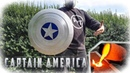 Casting Aluminum Captain America Shield MARVEL
