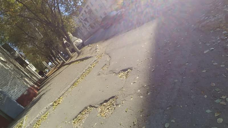 Горит дом в Заводском районе города Саратова Азина 1 й проезд Энергетиков