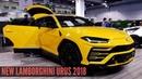 New Lamborghini Urus SUV Interior Exterior 2018