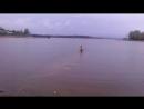 купание на спор