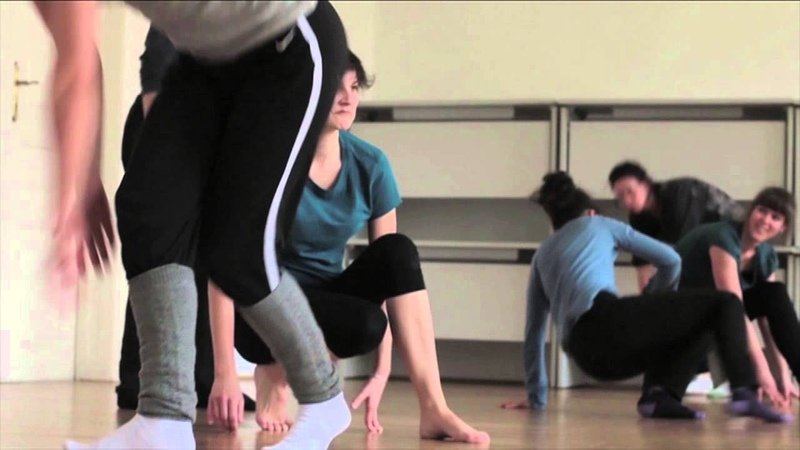 Contemporary dance release technic with Zoltán Grecsó