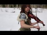 Lindsey Stirling &amp Peter Hollens - Skyrim