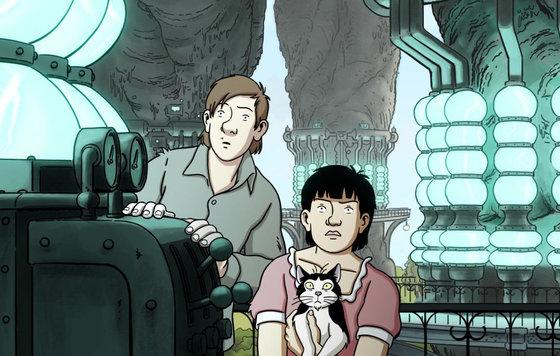 Видео к мультфильму Аврил и поддельный мир 2015 Трейлер смотреть онлайн без регистрации