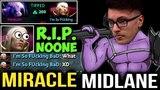 MIRACLE- Midlane Faceless Void Outplay Noone Like a Boss - ft Matumbaman MC Dota2