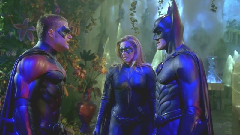 Batman and Robin - ALL Batgirl scenes