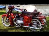Мотоцикл Jawa 353 1959 года, с коляской