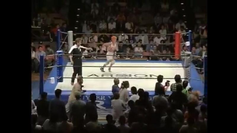 Akino vs. Fabi Apache (Clipped) (7.16.2000)