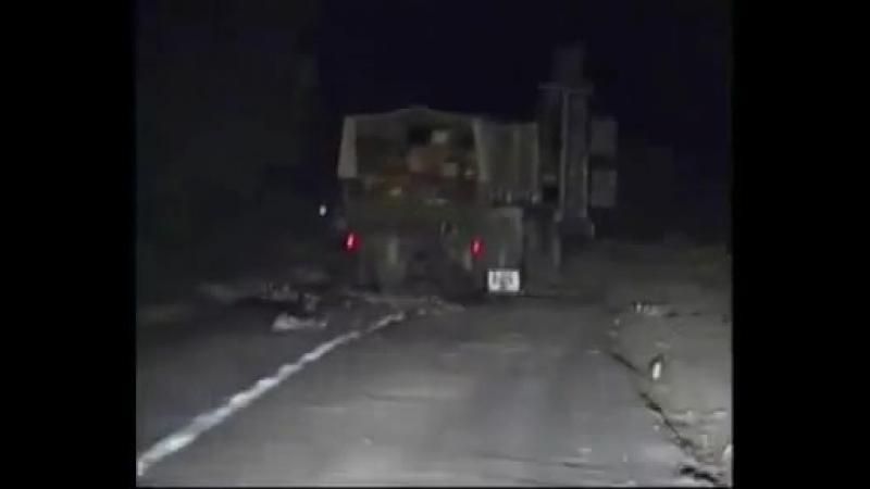 Южная Осетия, Цхинвал, ночь с 8 на 9 августа 2008 года