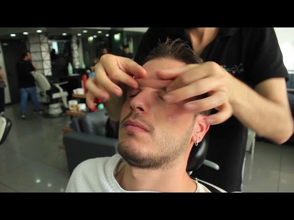 ASMR Turkish Barber Face,Head and Body Massage 118 💆♂️💈 (18 Mins)