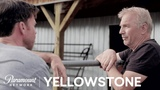 Kevin Costner on Yellowstone &amp Working w Taylor Sheridan Paramount Network