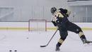 Кистевой бросок в хоккее