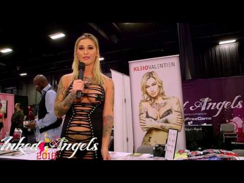 Kleio Valentien appearing with Inked Angels at Exxxotica NJ 2016